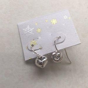 Dainty Christmas bell earrings